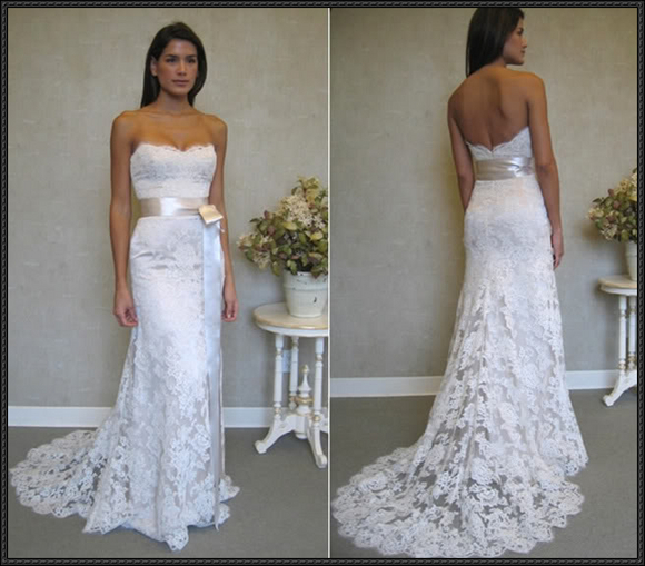 modern lace wedding dresses
