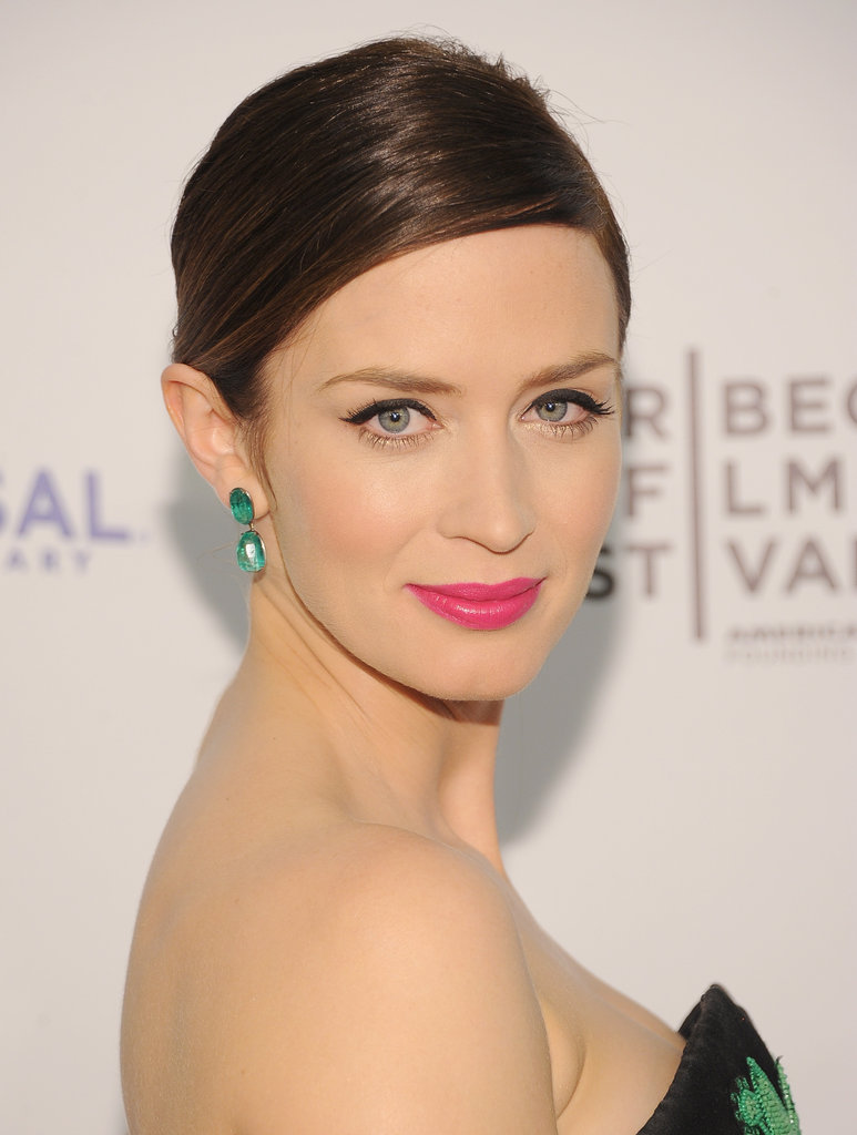 Emily Blunt posed at the Five-Year Engagement premiere wearing Jason Wu during the 2012 Tribeca Film Festival.