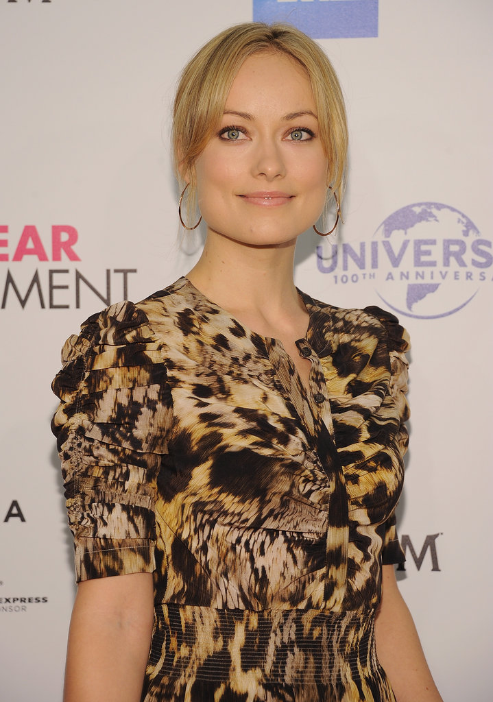 Olivia Wilde posed on the red carpet for the premiere of The Five-Year Engagement during the 2012 Tribeca Film Festival.