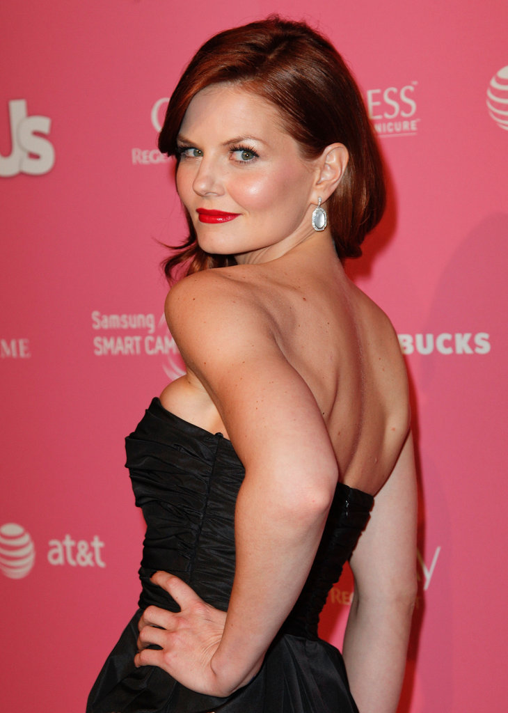 Jennifer Morrison posed at the Us event.