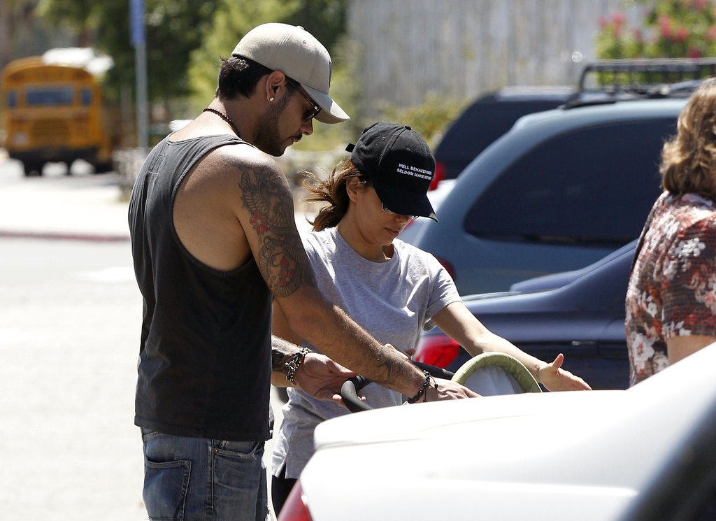 Eva Longoria and Eduardo Cruz Seem to Be Back On — With Plenty of PDA!