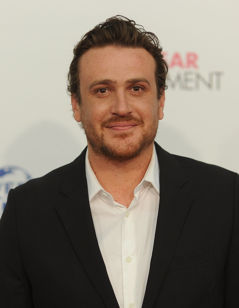 Jason Segel flashed a smile at the premiere of The Five-Year Engagement during the 2012 Tribeca Film Festival.