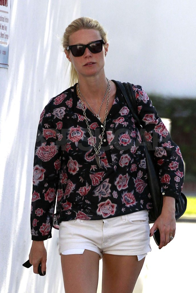Gwyneth Paltrow out in LA.