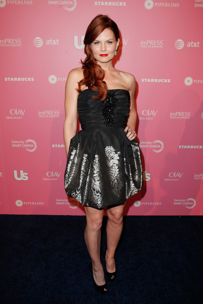 Jennifer Morrison attended the Us Hot Hollywood party.