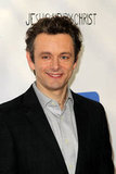 Michael Sheen looked handsome at the premiere of Jesus Henry Christ.