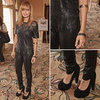 Nicole Richie Leather Top at NBC Press Event