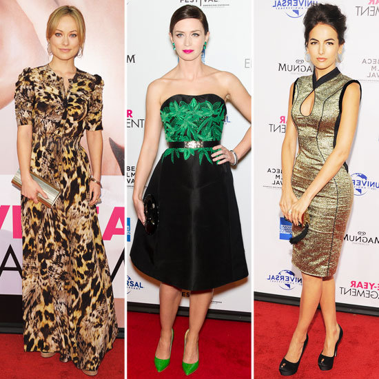 Emily Blunt, Olivia Wilde & More Glam Up For the Five-Year Engagement Premiere: Who's Most Fab?