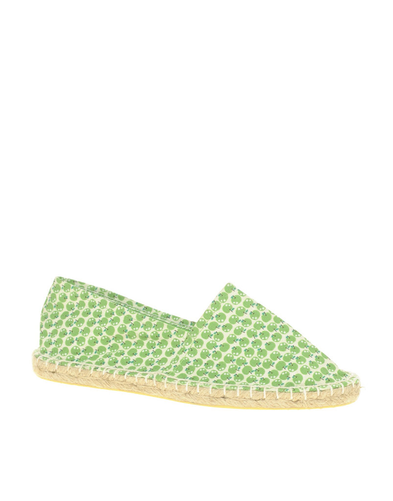 These sweet apple-print slip-ons would fit right in at a picnic in the park.  ASOS Marley Apple Print Espadrilles ($18)