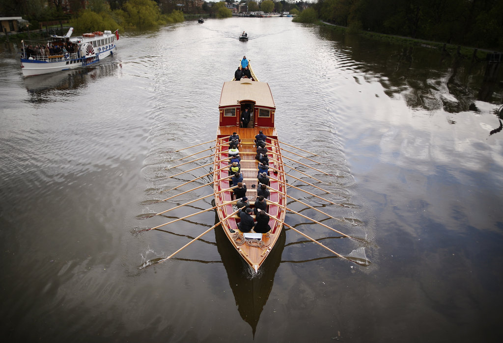 A British Barge