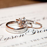 What Do You Know About the History of the Wedding Ring? Wedding rings have been around so long that we rarely question why or how they came about. Their history extends about as far back as civilization itself, so see what you know — or can guess — about the origin of the wedding ring. Photo by Samuel Lippke Studios via Style Me Pretty