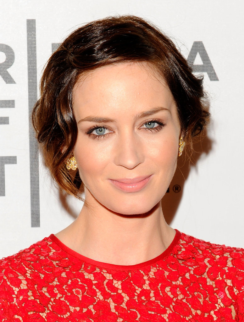 Emily Blunt attended the premiere of Your Sister's Sister during the 2012 Tribeca Film Festival.