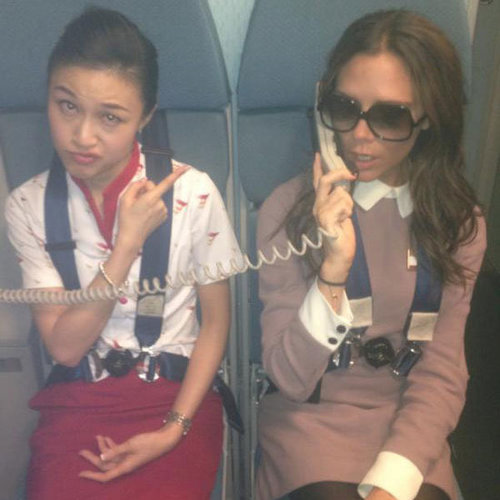 Victoria Beckham Shows Her Funny Side In Personal Photos