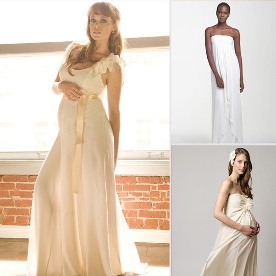 Lil has 10 gorgeous gowns that are perfect for the mom-to-be.
