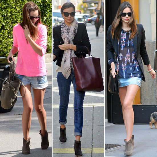 In honor of Miranda Kerr's birthday, we're taking a look at her amazing street style.