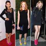 Eight inspired celeb looks to show you how to wear a pair of neon heels.