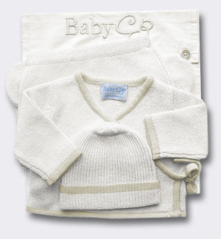 Baby CZ Tipped Cashmere Layette