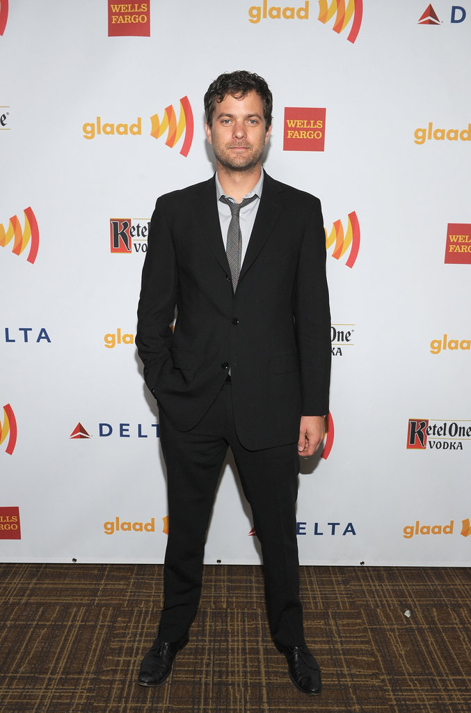 Joshua Jackson attended the GLAAD Awards.