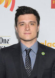 Josh Hutcherson was honored with the Vanguard Award.