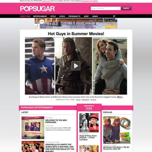 Welcome to the New PopSugar!