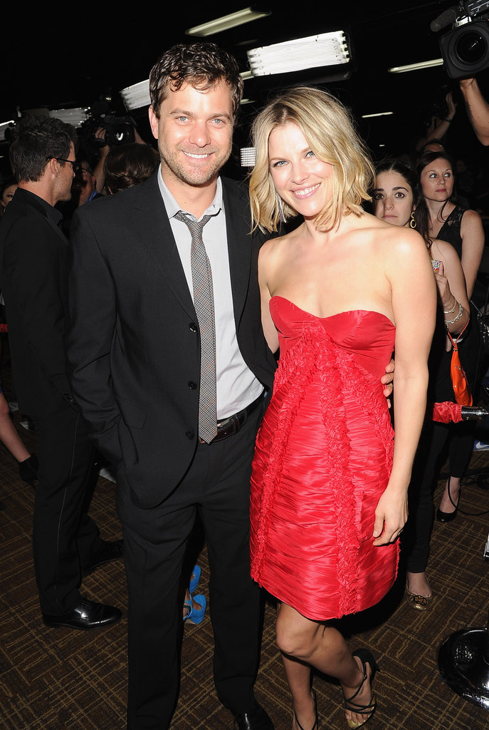 Ali Larter caught up with Joshua Jackson.
