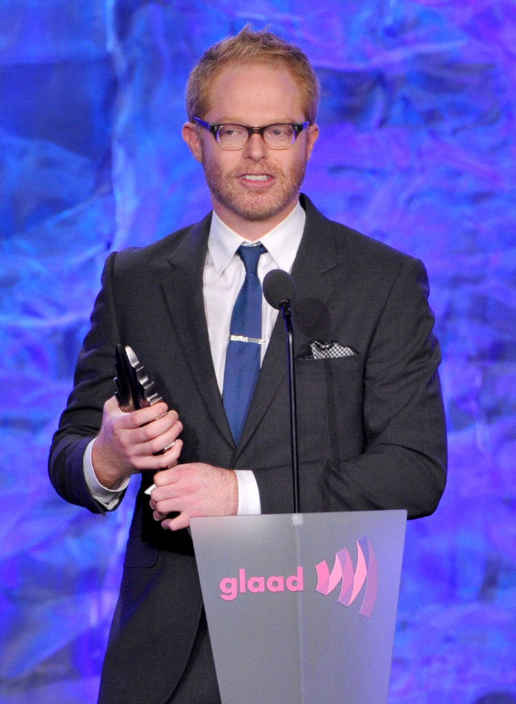 Jesse Tyler Ferguson accepted an award on behalf of Modern Family.