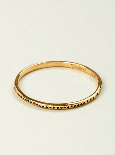 Couverture and The Garbstore » 18 carat gold ring