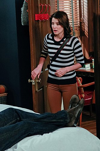 Cobie Smulders as Robin on How I Met Your Mother. Photo courtesy of CBS