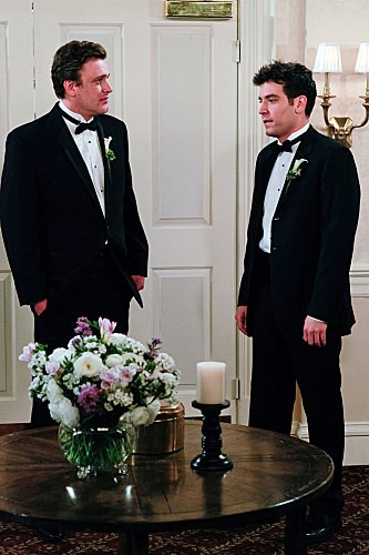 Jason Segel as Marshall and Josh Radnor as Ted on How I Met Your Mother. Photo courtesy of CBS