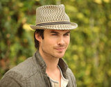 Ian Somerhalder spent Earth Day in Santa Monica.