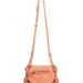 Jerome Dreyfuss's light peach crossbody bag is super cute, lightweight, and buttery soft.