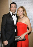 John Hamm and Jennifer Westfeldt