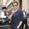 Zac Efron Visits BBC Radio 1 With Injured Hand Pictures