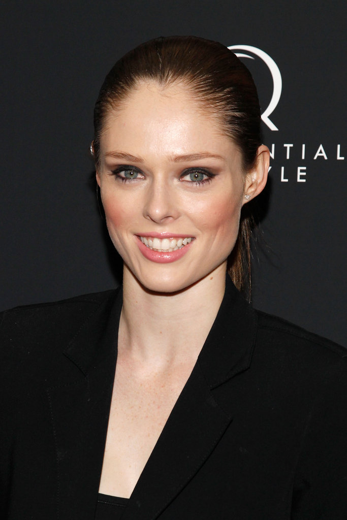 Coco Rocha was in attendance at the New York premiere of Bernie.