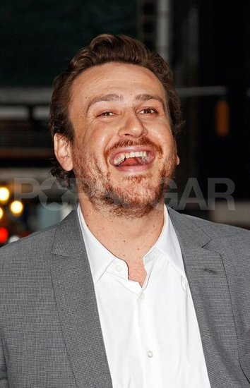 Jason Segel had a laugh on his way to meet up with Michelle Williams for dinner in NYC.