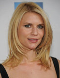 Claire Danes stepped onto the red carpet for the premiere of Hysteria at the 2012 Tribeca Film Festival.