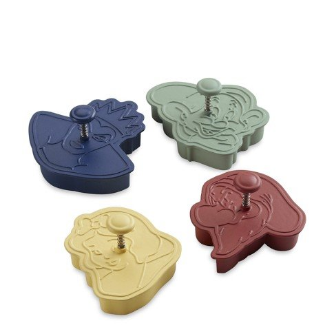 Williams-Sonoma Snow White & the Seven Dwarfs Cookie Cutters ($20)