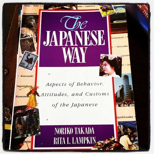 Teresajsharp was reading up on The Japanese Way.