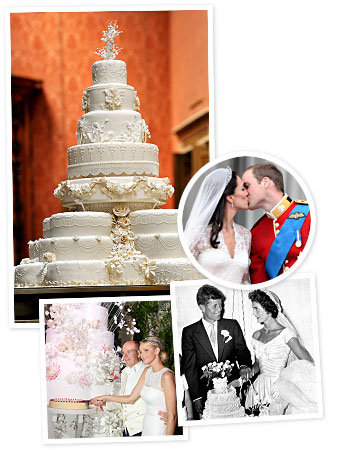 20 Celebrity Wedding Cakes We Loved (Including Kate's!)