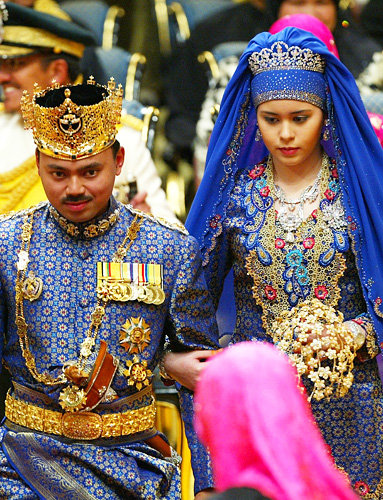 Prince Al-Muhtadee Billah of Brunei and Sarah Salleh