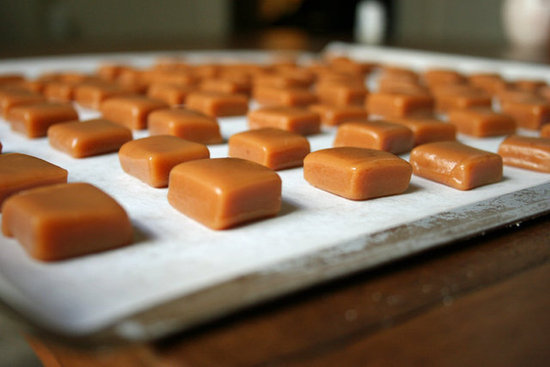 Homemade Caramel Candies
