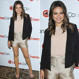 Mila Kunis in Satin Shorts — A Look We Love and 5 Reasons Why