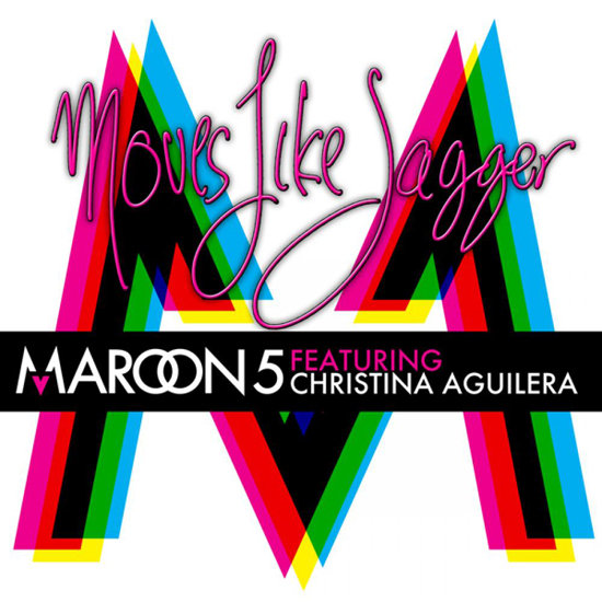 """Move Like Jagger"" by Maroon 5 Feat. Christina Aguilera"