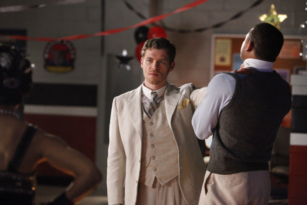Joseph Morgan as Klaus and Robert Ri'chard as Jamie on The Vampire Diaries.