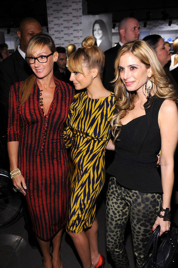Nicole Richie partied with friends in NYC.