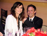 Kristen Wiig and Seth Meyers sat together at the Time 100 gala in NYC.