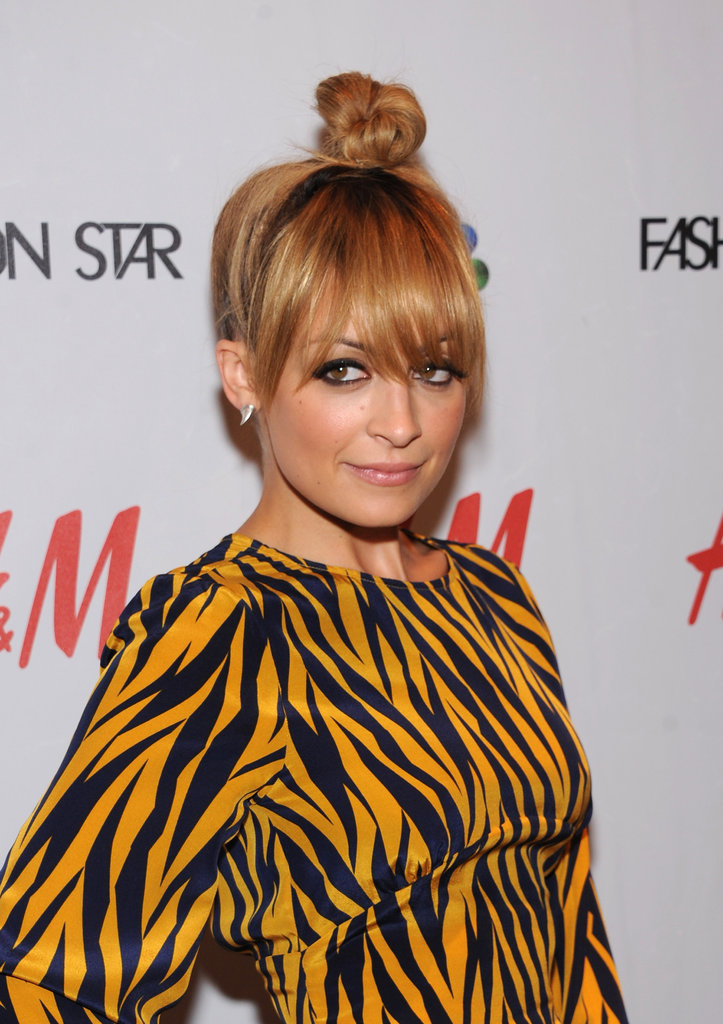 Nicole Richie attended a Fashion Star party to celebrate the first season.