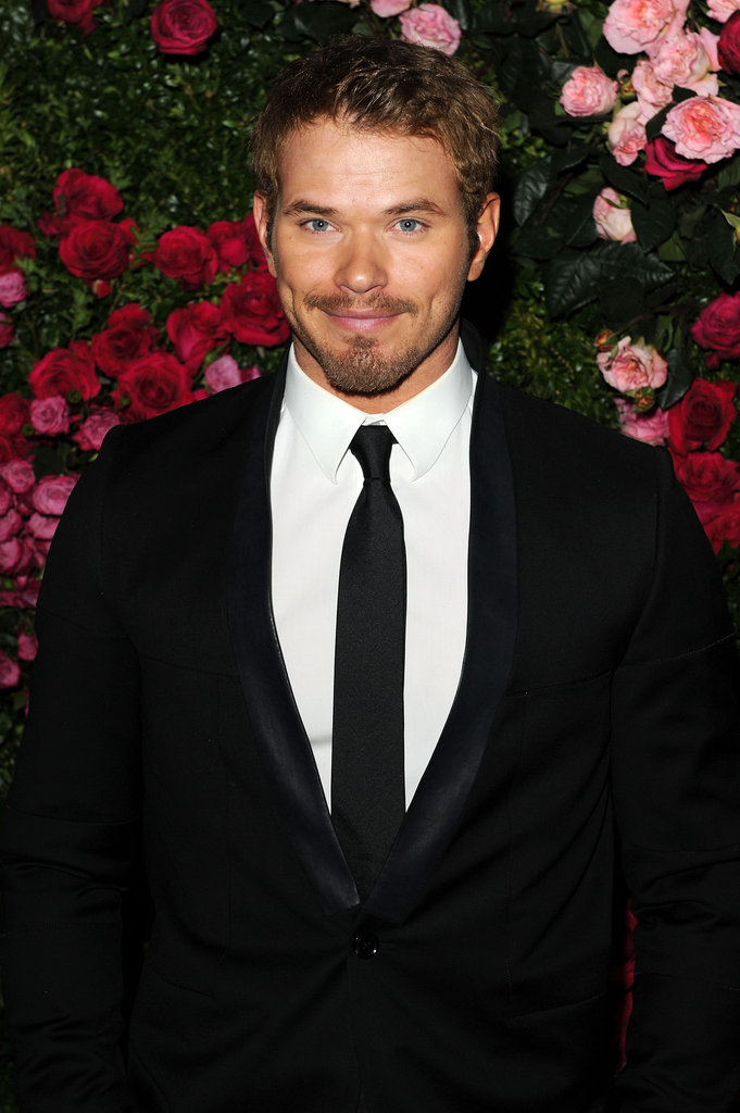 Kellan Lutz attended the Chanel dinner party at the 2012 Tribeca Film Festival.