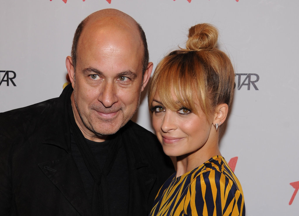 Nicole Richie and John Varvatos posed together in NYC.
