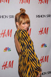 Nicole Richie attended a Fashion Star party in NYC.