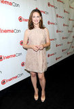 Jennifer Garner came out to celebrate CinemaCon in Las Vegas.